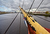 Bowsprit of the Glenlee Tall Ship - 13 October 2013