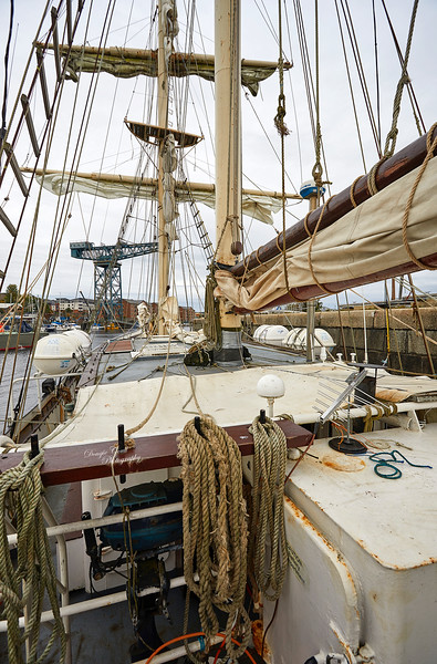 La Malouine at James Watt Dock, Greenock - 25 September 2018