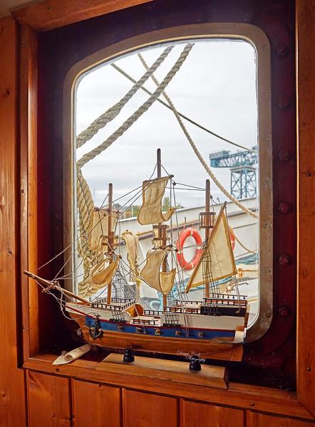 La Malouine at James Watt Dock, Greenock - 25 September 2018