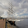Lord Nelson at Custom House Quay - 2 September 2012