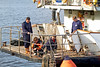 Lord Nelson Crew at Work - 2 September 2012