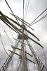 Lord Nelson Masts and Rigging - 2 September 2012