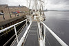 Wheelchair Friendly Bowsprit - Lord Nelson - 2 September 2012