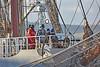 'Stavros S Niarchos' at James Watt Dock - 23 March 2015