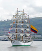Greenock Tall Ships Event - 'A.R.C Gloria' Departing - 12 July 2011