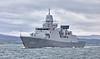 HNLMS De Ruyter (F804) passing Greenock - 8 May 2019