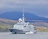 FS Bretagne (D655) off Rhu Spit - 8 May 2019