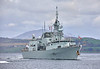 HMCS St. John's (FFH 340) off Greenock - 5 May 2019