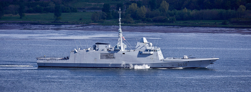 FS Aquitaine (D650) off Langbank - 4 May 2019