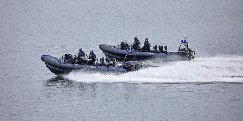 MOD Police RHIBs - Off Cloch Lighthouse, Gourock - 6 May 2019