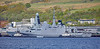 FS Bretagne (D655) berthing at Faslane - 5 May 2019