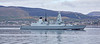 HMS Defender (D36) off Cloch Point, Gourock - 5 May 2019
