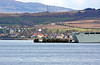 RFA Mounts Bay Loading Vehicles - Off Greenock Esplanade - 16 April 2012
