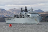 HMS Bulwark (L15) - Departing Faslane - 15 April 2012