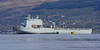RFA Mounts Bay - Off Greenock Esplanade - 16 April 2012