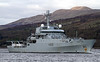 HMS Enterprise (H88) - Off Roseneath - 15 April 2012