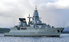 FGS Hessen (F221) - Off East India Harbour - 13 April 2012