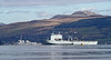 RFA Mounts Bay and USS Forrest Sherman - Off Greenock Esplanade - 16 April 2012