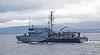 Fulda (M1058) - Off Port Glasgow Departing the Clyde - 18 October 2012