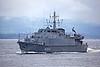 EML Sakala (M314) - Off Port Glasgow Departing the Clyde - 18 October 2012