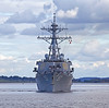 USS Mitscher (DDG-57) - Near Faslane - 26 September 2012