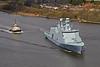 HDMS Absalon (L16) - Erskine Bridge - 26 April 2013