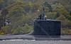 USS Virginia - USN Submarine Off Rhu Spit - 7 October 2013