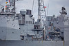 USS Leyte Gulf (CG55) at Rhu Spit - 28 March 2014