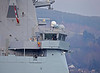HMS Dragon (D35) off Rhu Spit - 31 March 2014