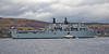 HMS Bulwark (L15) off Rhu Spit - 27 March 2014
