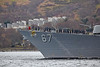 USS Cole (DDG67) at Rhu Spit - 28 March 2014
