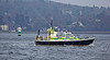 MOD Police Boat 'Sword' off Rhu Spit - 31 March 2014