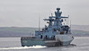 FGS Magdeburg (F261) bound for Glasgow - 7 April 2014