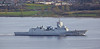 KNM Thor Heyerdahl (F314) passing East India Harbour - 11 April 2014