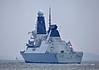 HMS Dragon (D35) Outward Bound - 31 March 2014