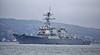 USS Cole (DDG67) at Rhu Spit - 30 March 2014