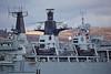 HMS Bulwark (L15) off Rhu Spit - 27 March 2014