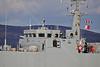 HMS Pembroke (M107) passing Greenock - 23 March 2014