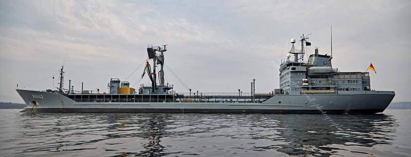 FGS Spessart (A1442) off Greenock - 10 April 2015