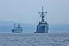 Joint Warrior Warships off Greenock - 10 April 2015