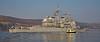 USS Vicksburg (CG 69) at Rhu Spit - 10 April 2015