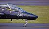 RAF Hawker Siddeley Hawk T.1 (XX240) at Prestwick - 15 April 2015