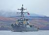 USS Donald Cook (DDG-75) at Rhu Spit - 12 April 2015