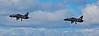 Navy Hawks XX157 and XX316 at Prestwick - 15 April 2015