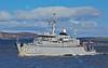 HNLMS Makkum (M857) passing Greenock - 12 April 2015