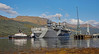 USS Mount Whitney (LCC 20) berthing at Glen Mallan - 17 October 2015