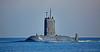 'HMCS Windsor' (SSK 877) inbound for Faslane - 1 October 2015