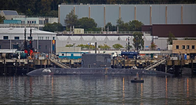'HMCS Windsor' (SSK 877) berthed at Faslane - 26 September 2015
