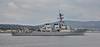 USS Ross (DDG71) at Rhu Spit - 4 October 2015