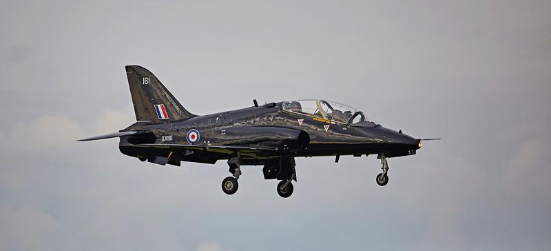 Hawk (XX161) at Prestwick Airport - 14 October 2015